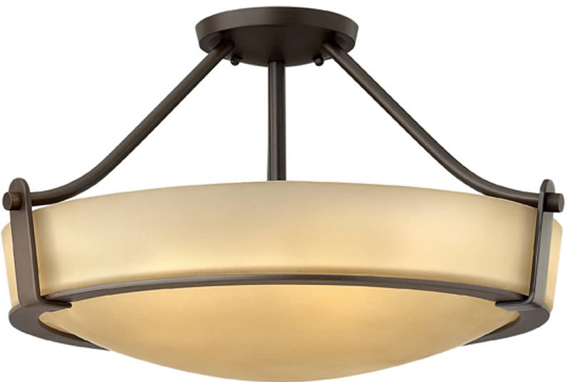 "21""w Hathaway 4-Light Chandelier Old Bronze"