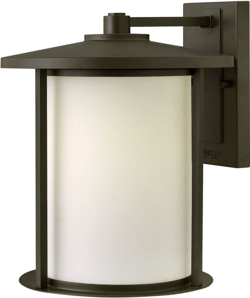 Hudson 1-Light Large Outdoor Wall Light Oil Rubbed Bronze
