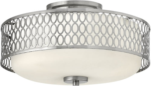 Hinkley Jules 3-Light Flush Foyer Brushed Nickel 53241BN