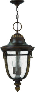 Hinkley Key West 3-Light Outdoor Pendant Light Regency Bronze 2902RB