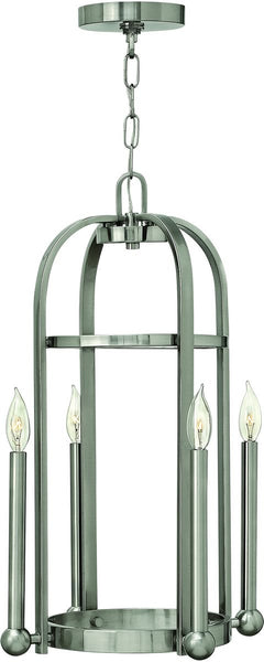 Hinkley Landon 4-Light Foyer Light Brushed Nickel 3013BN