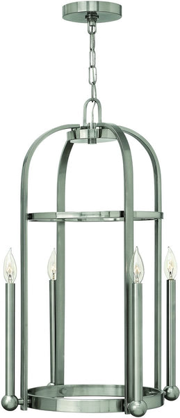 Hinkley Landon 4-Light Foyer Light Brushed Nickel 3014BN