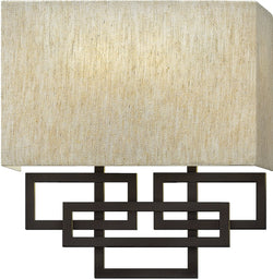 "10""w Lanza 2-Light Sconce Oil Rubbed Bronze"