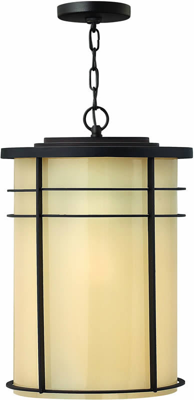 "13""w Ledgewood 1-Light Outdoor Pendant Museum Bronze"