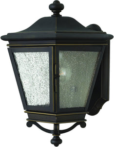 Lincoln 1-Light Outdoor Wall Light Oil Rubbed Bronze