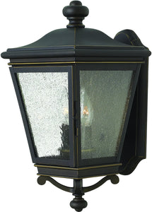 Lincoln 2-Light Outdoor Wall Light Oil Rubbed Bronze