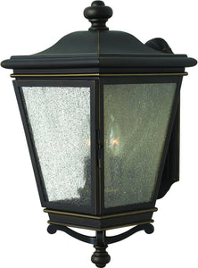 Hinkley Lincoln 3-Light Outdoor Wall Light Oil Rubbed Bronze 3205KZ