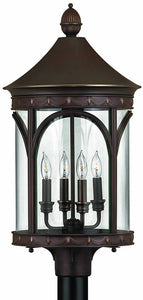 Hinkley Lucerne 4-Light Extra-Large Outdoor Post Lantern Copper Bronze 2311CB