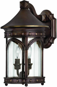 Hinkley Lucerne 2-Light Outdoor Wall Lantern Copper Bronze 2310CB