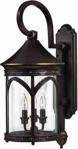 Hinkley Lucerne 3-Light Outdoor Wall Lantern Copper Bronze 2314CB