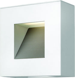 Hinkley Luna 2-Light Outdoor Wall Light Satin White 1647SW-LED