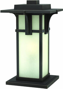 Hinkley Manhattan 1-Light Pier Mount Oil Rubbed Bronze 2237OZ