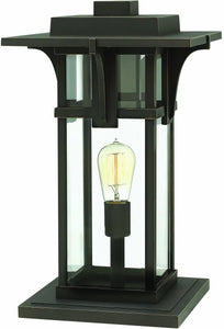 Hinkley Manhattan 1-Light Pier Mount Oil Rubbed Bronze 2327OZ