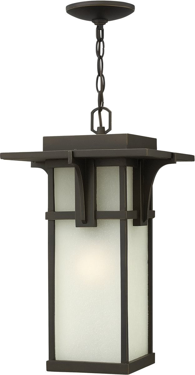 "11""w Manhattan 1-Light LED Hanger Outdoor Oil Rubbed Bronze"