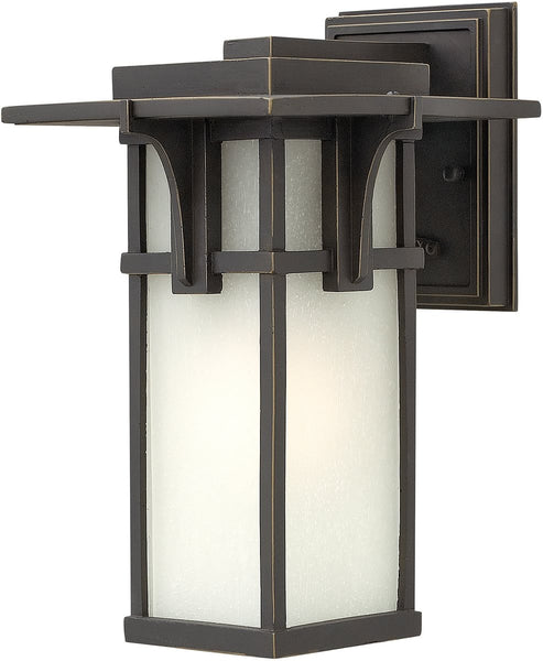 Hinkley Manhattan 1-Light LED Wall Outdoor Oil Rubbed Bronze 2230OZLED