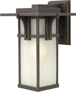 Hinkley Manhattan 1-Light Wall Outdoor Oil Rubbed Bronze 2234OZ