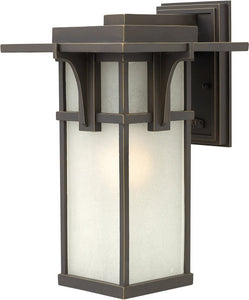 Hinkley Manhattan 1-Light LED Wall Outdoor Oil Rubbed Bronze 2234OZLED