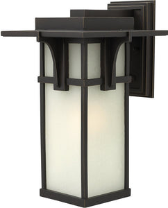 Hinkley Manhattan 1-Light LED Wall Outdoor Oil Rubbed Bronze 2235OZLED