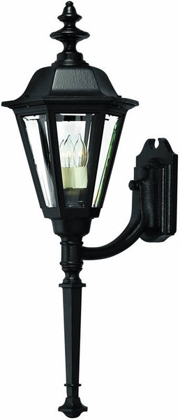 "31""h Manor House 1-Light Large Outdoor Wall Lantern Black"