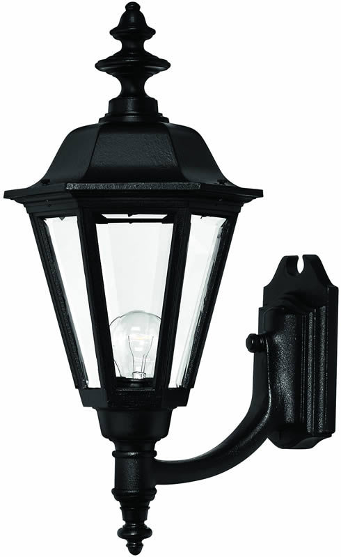 "21""h Manor House 1-Light Large Outdoor Wall Lantern Black"