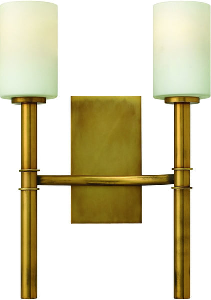 Hinkley Margeaux 2-Light Wall Sconce Vintage Brass 3582VS