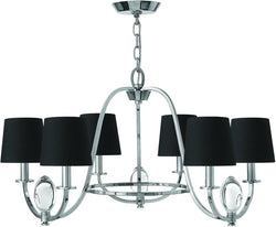 Marielle 6-Light Chandelier Chrome 3756CM