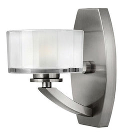 Hinkley Meridian 1-Light Bathroom Vanity Brushed Nickel 5590BN