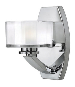 Hinkley Meridian 1-Light Bathroom Vanity Chrome 5590CM