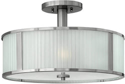 Hinkley Midtown 3-Light Chandelier Brushed Nickel 4971BN