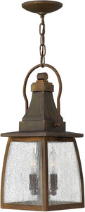 Hinkley Montauk 2-Light Outdoor Hanging Light Sienna 1202SN