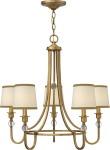 Hinkley Morgan 5-Light Chandelier Brushed Bronze 4875BR