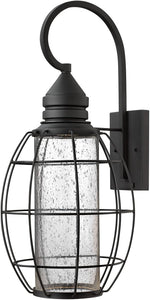 Hinkley New Castle 1-Light Wall Outdoor Black 2258BK