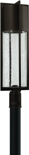 "28""h Dwell LED Outdoor Post Lantern Buckeye Bronze"