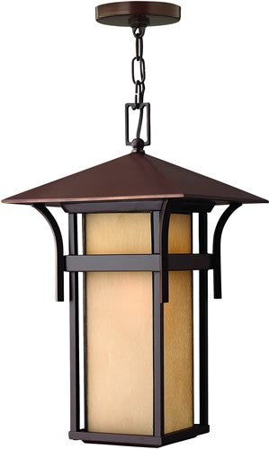 "11""w Harbor LED Outdoor Hanging Pendant Anchor Bronze"