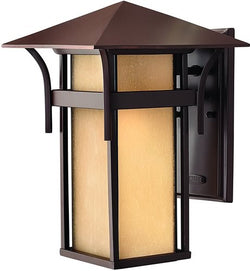 "14""h Harbor LED Outdoor Wall Lantern Anchor Bronze"
