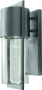 Hinkley Dwell LED Outdoor Wall Lantern Hematite 1320HELED