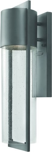 Hinkley Dwell LED Outdoor Wall Lantern Hematite 1324HELED