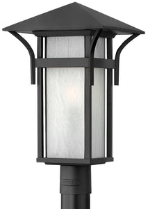 Hinkley Harbor Outdoor Post Lantern Satin Black 2571SK