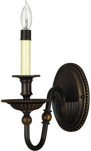 Hinkley Oxford 1-Light Wall Sconce Olde Bronze 4410OB