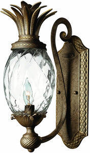 "6""w Plantation 1-Light Wall Sconce Pearl Bronze"