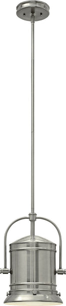 Hinkley Pullman 1-Light Mid Foyer Light Brushed Nickel 3257BN