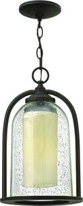 Hinkley Quincy 1-Light Outdoor Pendant Light Oil Rubbed Bronze 2612OZ-LED
