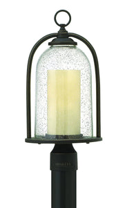 Hinkley Quincy 1-Light Outdoor Post Light Oil Rubbed Bronze 2611OZ-LED