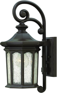 Raley 1-Light Outdoor Wall Light Oil Rubbed Bronze