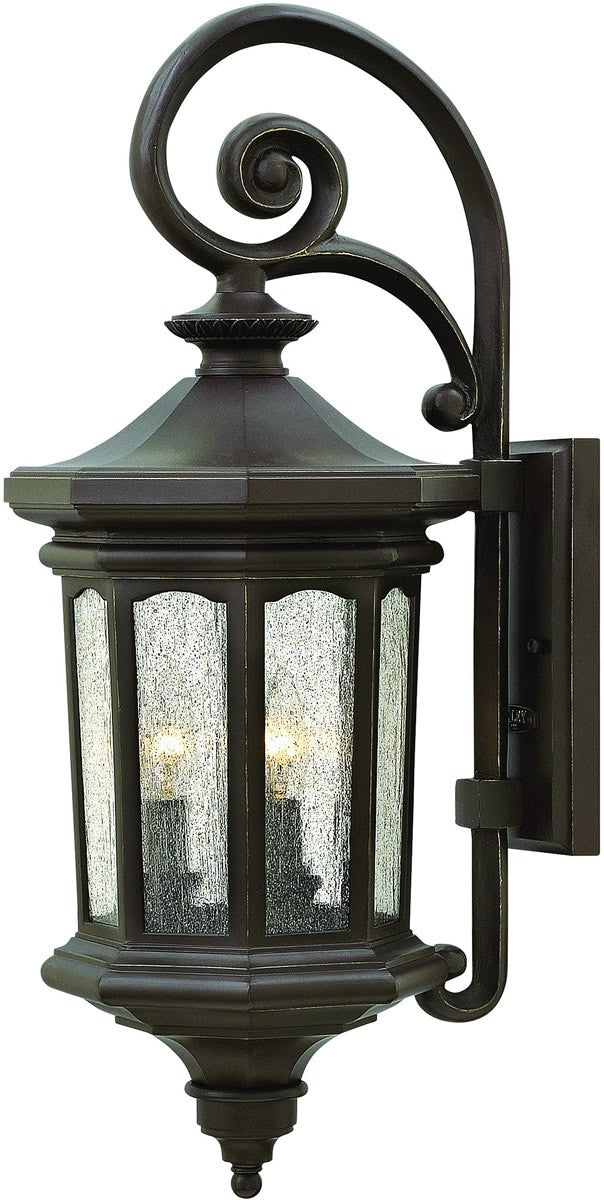 "26""H Raley 3-Light Outdoor Wall Light Oil Rubbed Bronze 1604OZ"