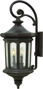 Hinkley Raley 4-Light Outdoor Wall Light Oil Rubbed Bronze 1605OZ