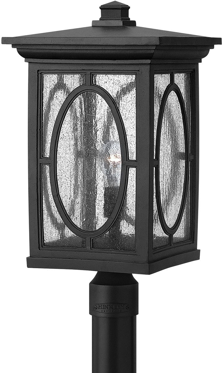 "21""H Randolph 1-Light Post Outdoor Black"
