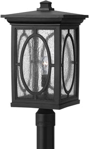 Hinkley Randolph 1-Light Post Outdoor Black 1499BK
