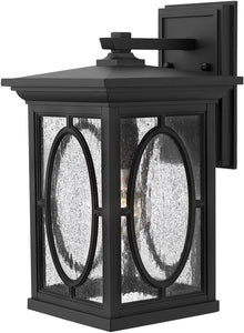Hinkley Randolph 1-Light Wall Outdoor Black 1494BK