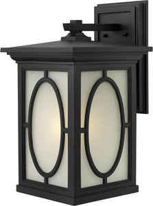 Hinkley Randolph 1-Light Wall Outdoor Black 1495BK